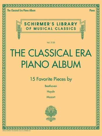 Schirmer's Library Of Musical Classics Volume 2120: The Classical Era Piano Album