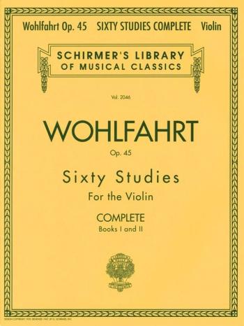 60 Studies, Op. 45 Complete Violin (Schirmer)
