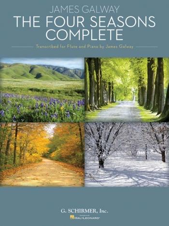 Four Seasons Flute & Piano Arr Galway (Schirmer)