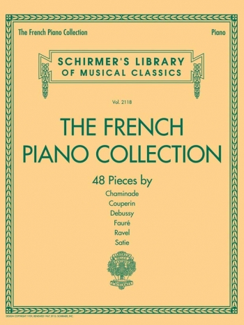 The French Piano Collection (Schirmer)