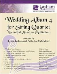 Wedding Album 4: String Quartet (arr Latham)