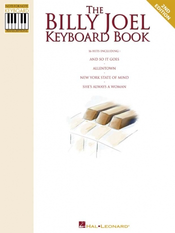 Billy Joel: The Billy Joel Keyboard Book: Keyboard