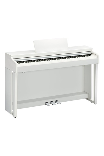 Yamaha CLP625 Clavinova Satin White Finish