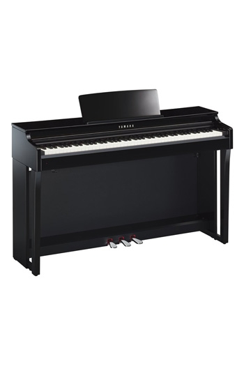 Yamaha CLP625 Clavinova Polished Ebony Finish