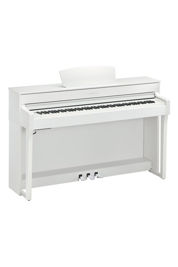 Yamaha CLP635 Clavinova Satin White Finish