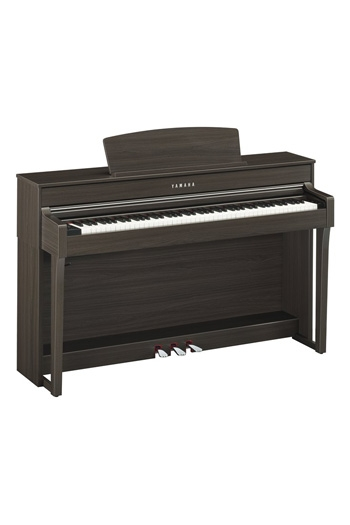 Yamaha CLP645 Clavinova Dark Walnut Finish