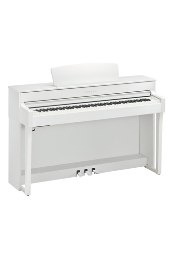 Yamaha CLP645 Clavinova Satin White Finish
