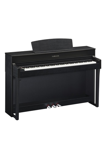 Yamaha CLP645 Clavinova Satin Black Finish