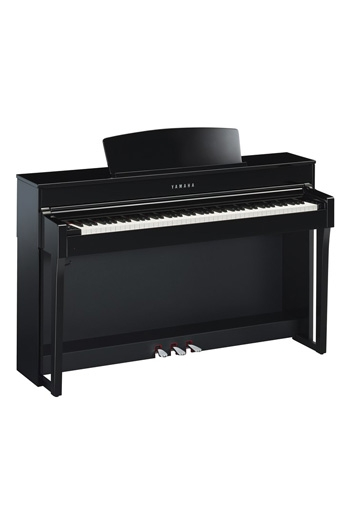 Yamaha CLP645 Clavinova Polished Ebony Finish