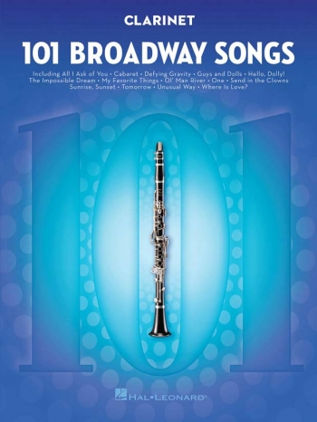 101 Broadway Songs: Clarinet Solo