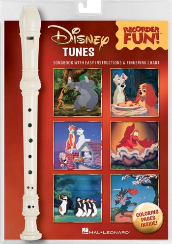 Disney Tunes - Recorder Fun!  Recorder And Music