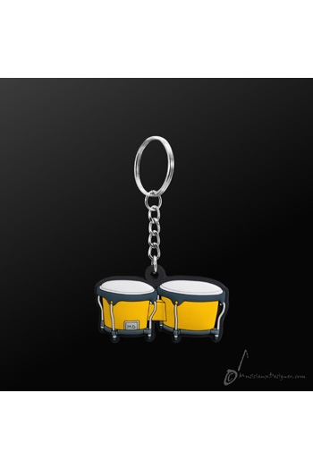 Keyring Bongo Yellow