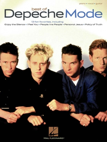 Depeche Mode: Best Of: Piano Vocal Guitar