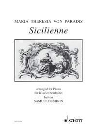 Sicilienne: Piano (Schott)