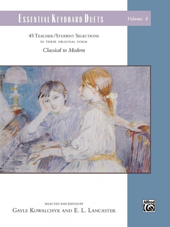 Essential Keyboard Duets: Volume 8 ( Kowalchyk And E. L. Lancaster)