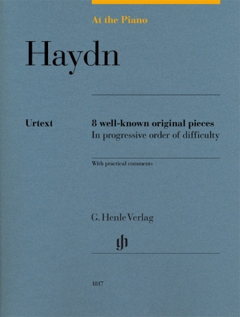 At The Piano - Haydn 8 Original Pieces In Progressive Order Of Difficulty (Henle)