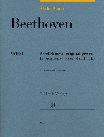 At The Piano - Beethoven 9 Original Pieces In Progressive Order Of Difficulty (Henle)