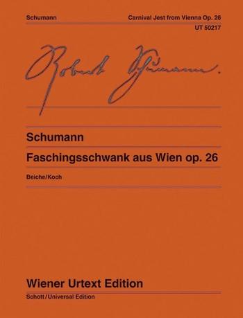 Faschingsschwank For Piano - Bb Major Op. 26  (Wiener Urtext)
