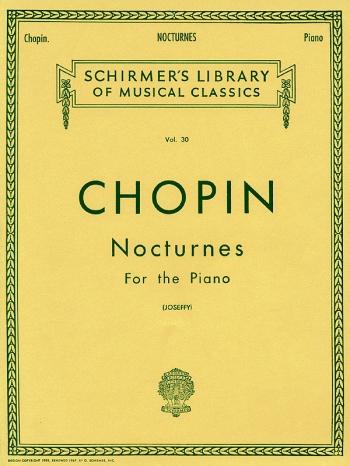 Nocturnes Piano (Schirmer)