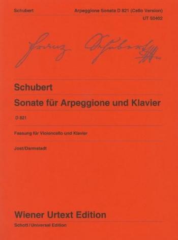 Sonata Arpeggione: A Minor: D821: Violin & Piano (Wiener)