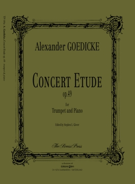 Concert Etude: Op49: Trumpet & Piano (Brass Press)