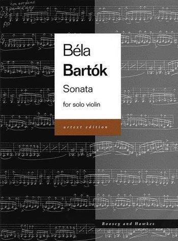Sonata For Solo Violin Urtext (Boosey & Hawkes)