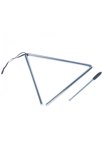 "Triangle - 8"" With Beater"