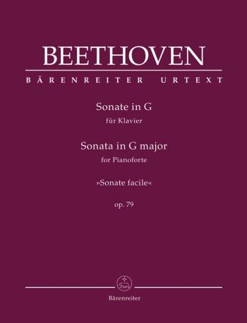 Piano Sonata G Major Op.79 Piano (Barenreiter)