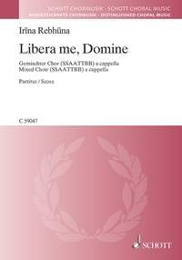 Libera Me, Domine: Mixed Voices A Capella: Vocal SSAATTBB