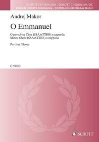 O Emmanuel: Mixed Voices A Capella: Vocal SSAATTBB
