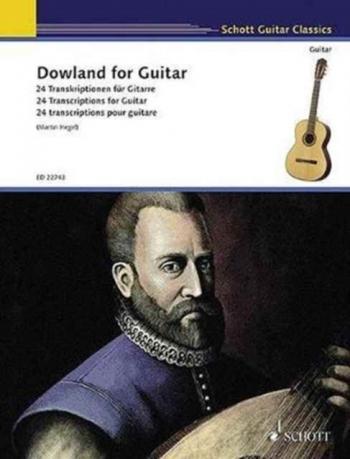 Dowland For  Guitar Pieces: 24 Transcriptions For Guitar (Schott)