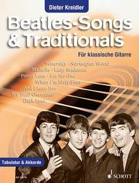 Beatles Songs & Traditionals For Classical Guitar & Tab