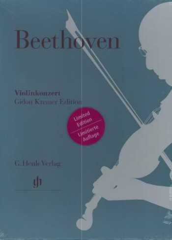 Violin Concerto D Major Op.61: Violin & Piano Slipcase (Henle)