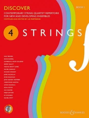 4 Strings - Book 1 Discover: Score & CD Contemporary String Quartet Repertoire