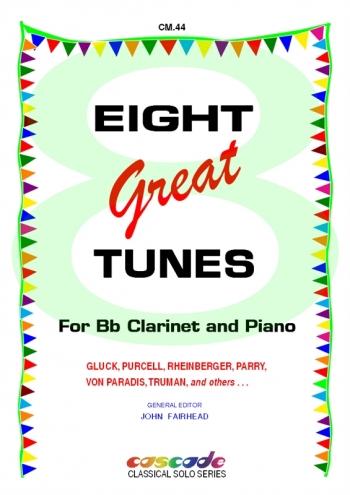 Eight Great Tunes For Clarinet & Piano (arr Fairhead)