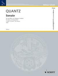 Sonata In E Minor: Flute & Piano (Schott)