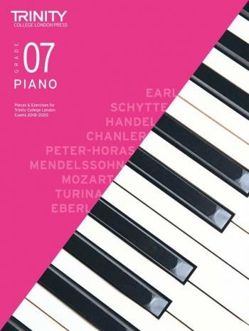 Trinity College London Piano Exam Pieces & Exercises 2018-2020 Grade 7