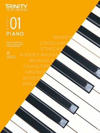 Trinity College London Piano Exam Pieces & Exercises 2018-2020 Grade 1 With CD & Teaching Notes