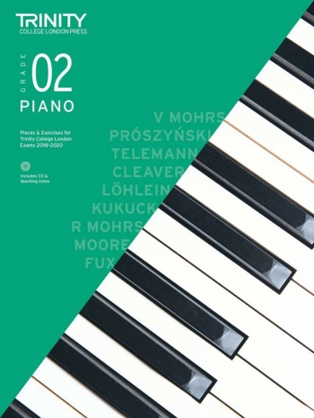 Trinity College London Piano Exam Pieces & Exercises 2018-2020 Grade 2 With CD & Teaching Notes