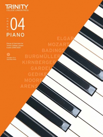 Trinity College London  Piano Exam Pieces & Exercises 2018-2020 Grade 4 With CD & Teaching Notes