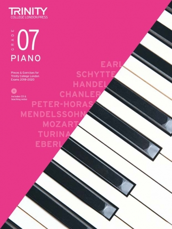 Trinity College London Piano Exam Pieces & Exercises 2018-2020 Grade 7 With CD & Teaching Notes