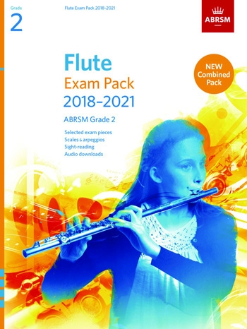 ABRSM Flute Exam Pack Grade 2 2018–2021: Pieces Scales Sight-reading & Download