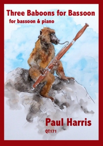 3 Baboons For Bassoon: Bassoon & Piano (Paul Harris)