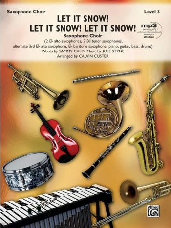 Let It Snow Saxophone Choir  Arr Custer