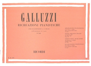 Ricreazioni Pianistiche (II Serie) Piano Duet (Ricordi)