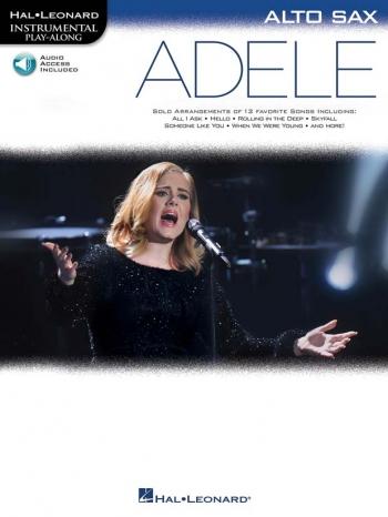 Instrumental Play-Along: Adele - Alto Saxophone (Book/Online Audio)