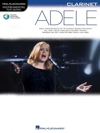 Instrumental Play-Along: Adele - Clarinet (Book/Online Audio)