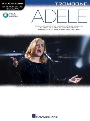 Instrumental Play-Along: Adele - Trombone (Book/Online Audio)