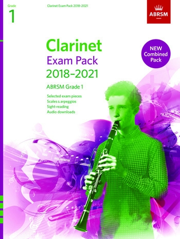 ABRSM Clarinet Exam Pack Grade 1 2018–2021: Pieces Scales Sight-reading & Download