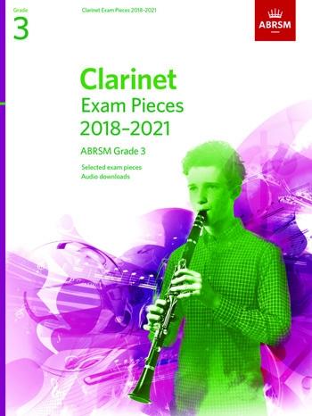 ABRSM Clarinet Exam Grade 3 2018–2021: Pieces & Download